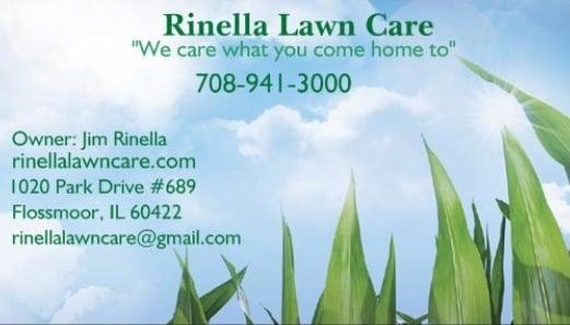 Rinella Lawn Care: 1020 Park Dr, Flossmoor, IL