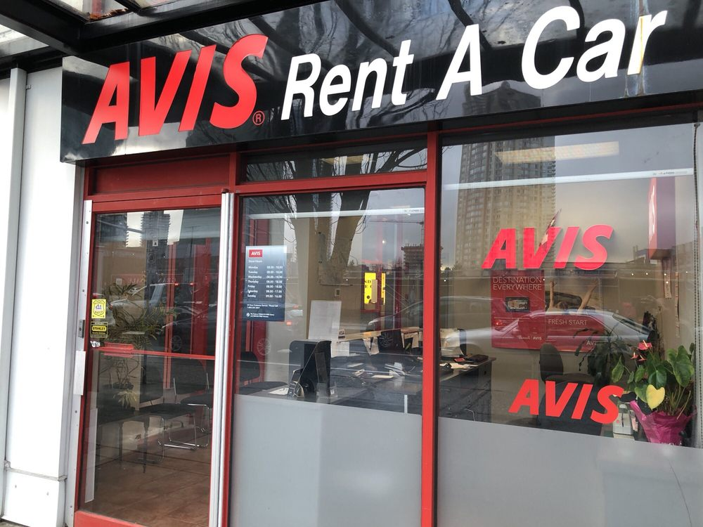 Avis Car Rental Burnaby