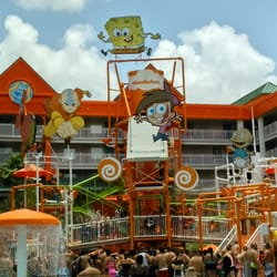 Nickelodeon Suites Resort - CLOSED - 14500 Continental Getway Dr