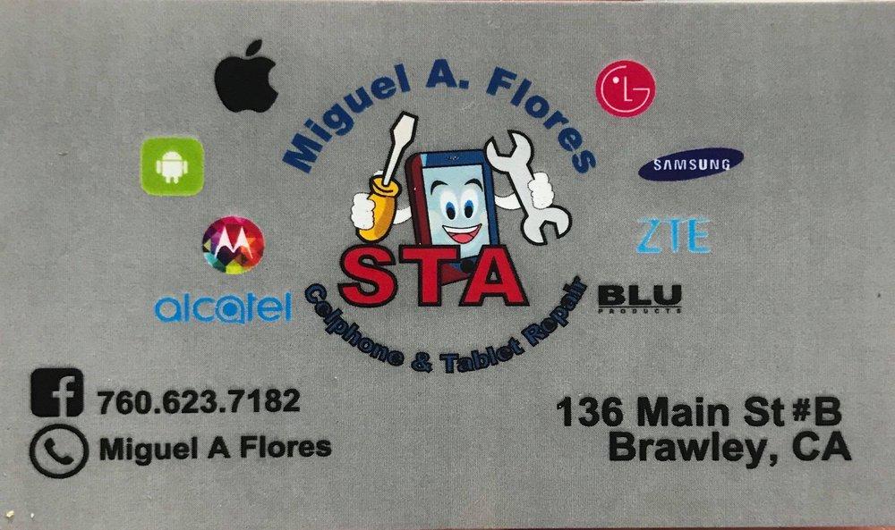 STA Cellphone Repair Store: 136 Main St, Brawley, CA