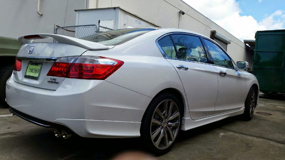 honda accord touring  factory hfp wheels  tires    package  installed