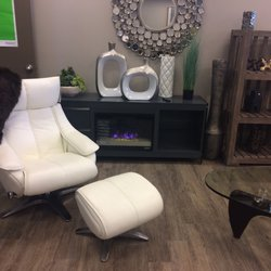 Photo Of International Furniture Wholesalers   Saskatoon, SK, Canada.  Comfortable White Leather Chair ...
