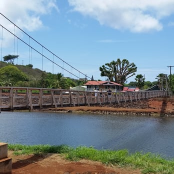 Hanapepe swinging bridge