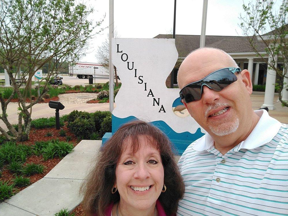 Louisiana I-55 Visitor Center: 77479 I-55 S, Kentwood, LA