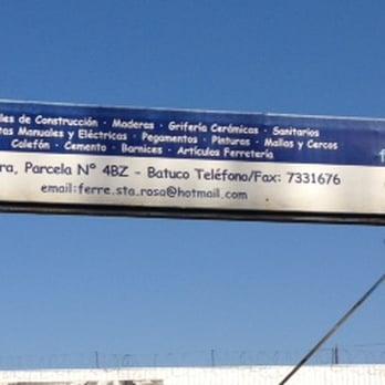 Ferretería Santa Rosa - Santa Sara 4, parcela 4BZ, Batuco, RM Batuco ...