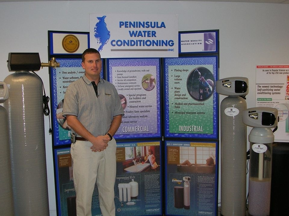 Peninsula Water Conditioning: 404A Irl Ln, Fruitland, MD