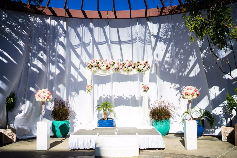 Photo Of Noor Pasadena Ca United States Outdoor Wedding Ceremony
