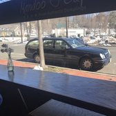 Photo Of Mandoo Cafe   Tenafly, NJ, United States. View Out To The