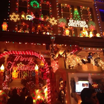 photo of hampden christmas street holiday show baltimore md united states love - Christmas Lights Maryland