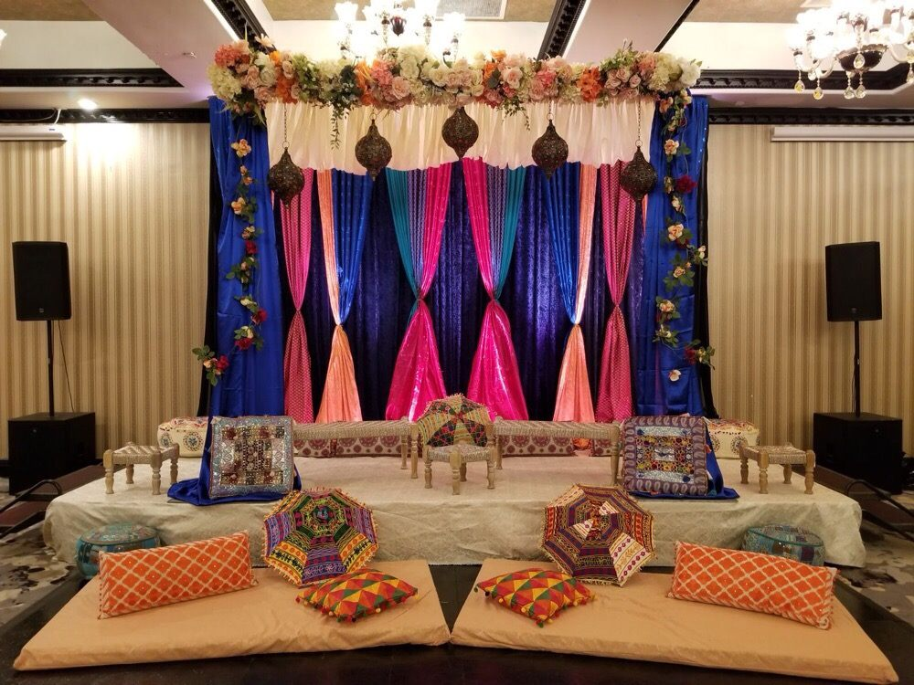 Bay Area Indian Wedding Decorations Sangeet Decor In Sacramento Yelp
