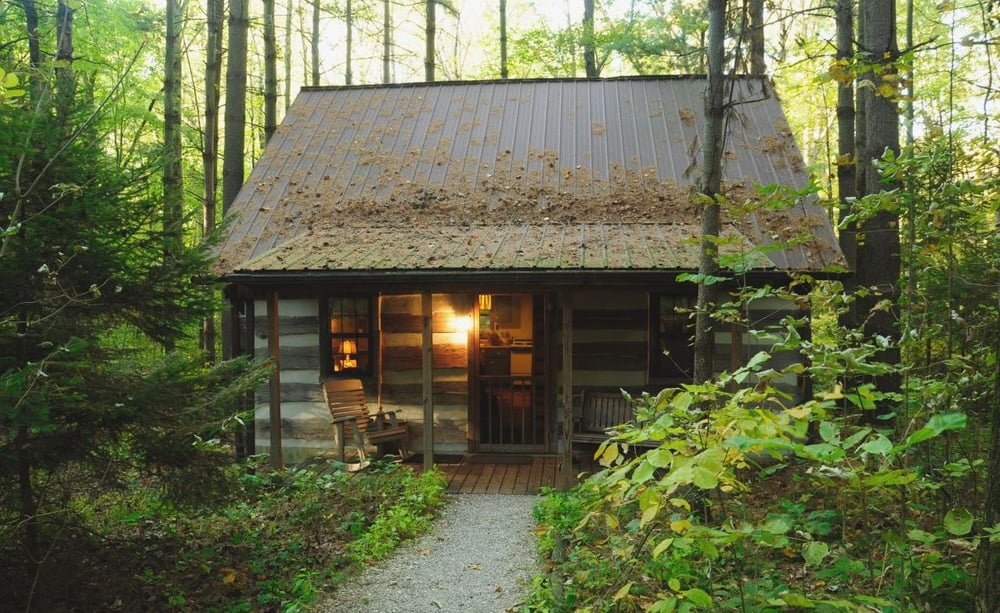 Hocking hills secluded log cabins yelp for Northeast ohio cabin rentals