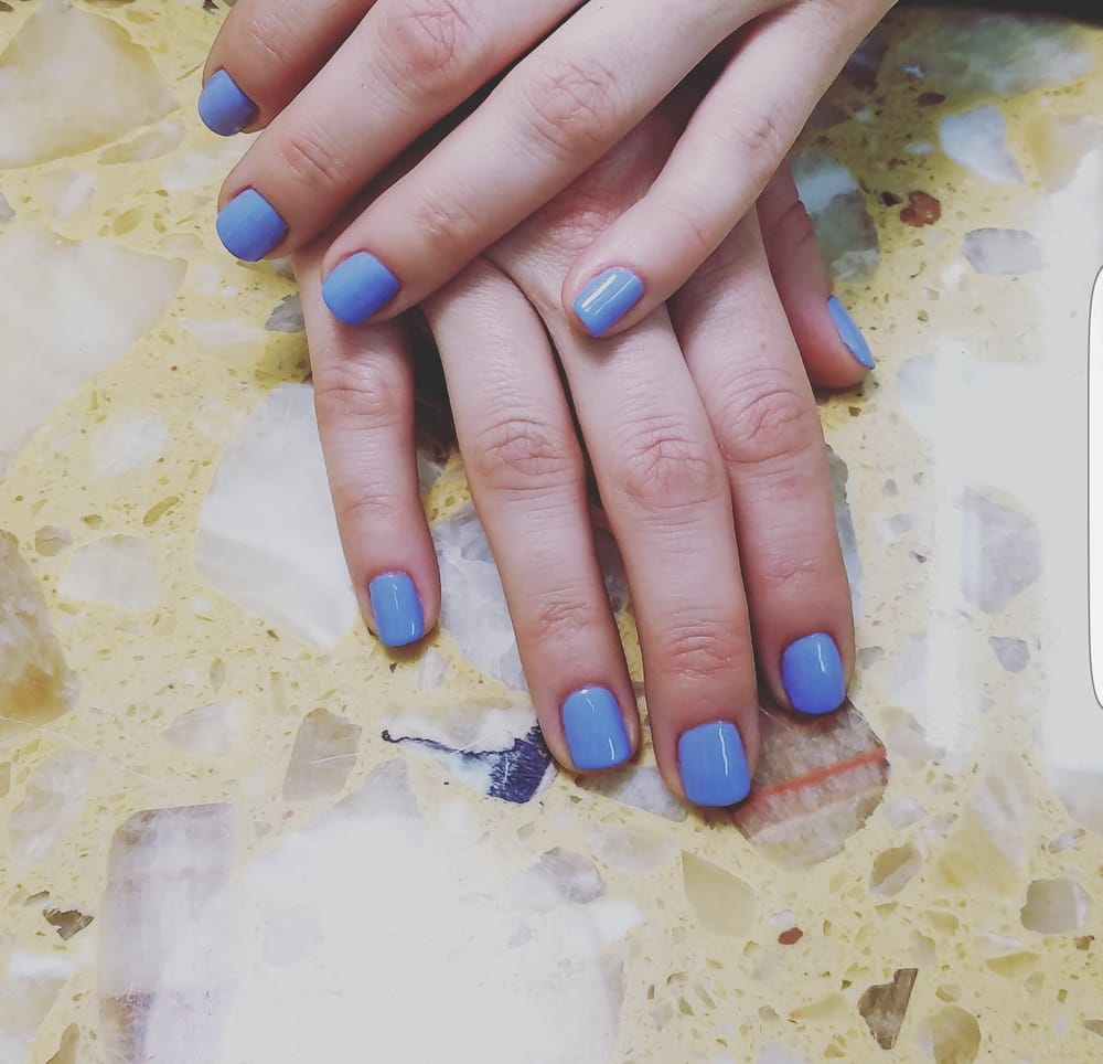 Ingrid always makes my nail shape, cuticle and paint look beautiful ...