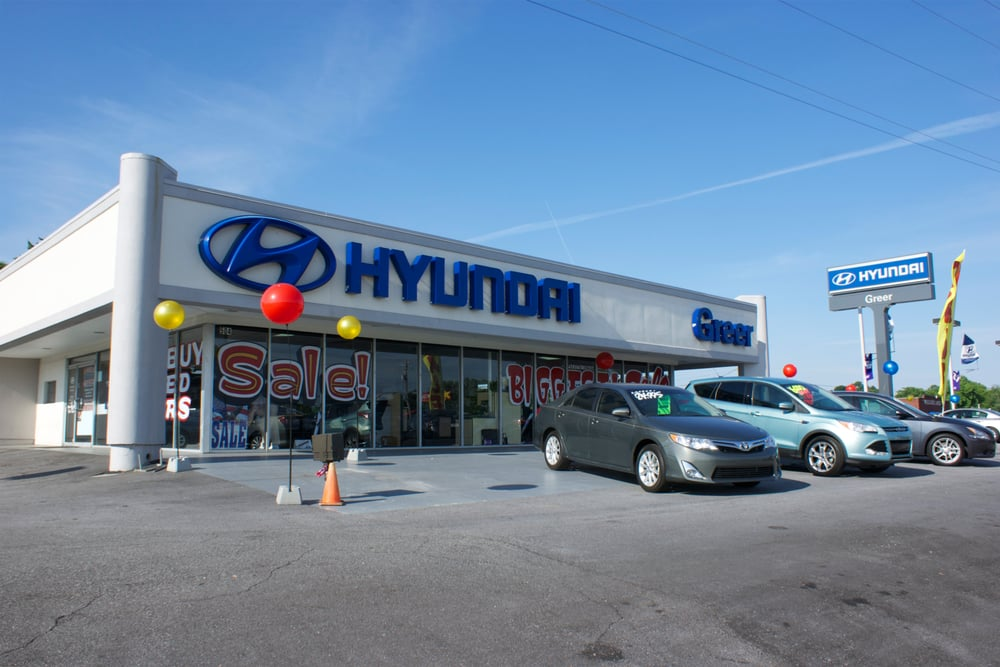 hyundai of greer car dealers 14435 e wade hampton blvd greer sc phone number yelp. Black Bedroom Furniture Sets. Home Design Ideas