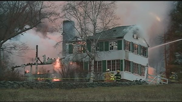 Photo Of Armont Inn Campton Nh United States Aftermath Fire On