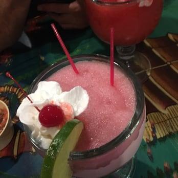 Photo of Las Playas Family Restaurant - Fontana, CA, United States. Pomegranate marg