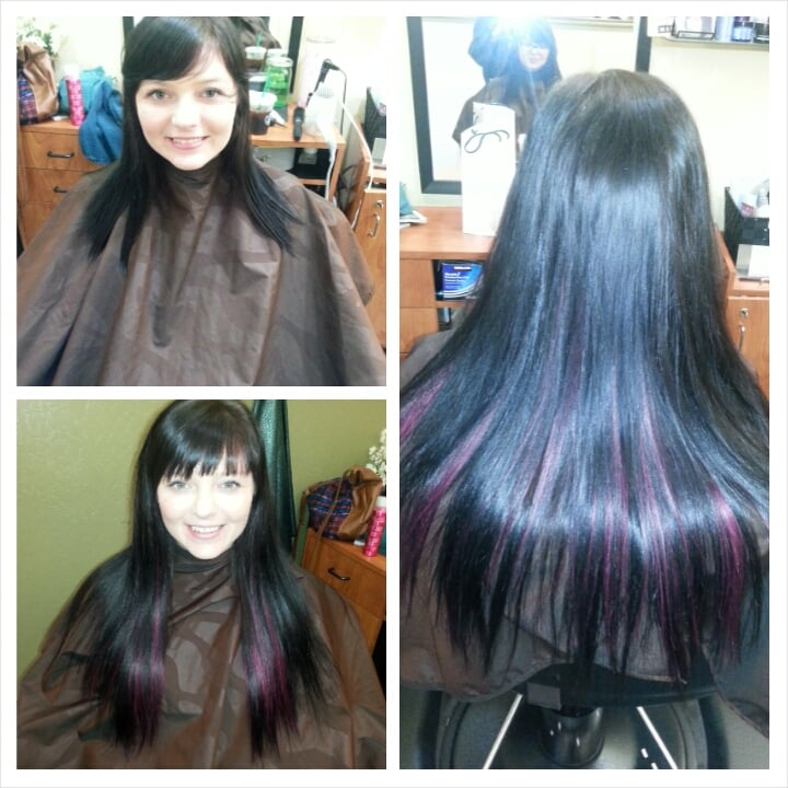 Before And After Emily Worked Her Magic Bangs Trim And Tape In Hair