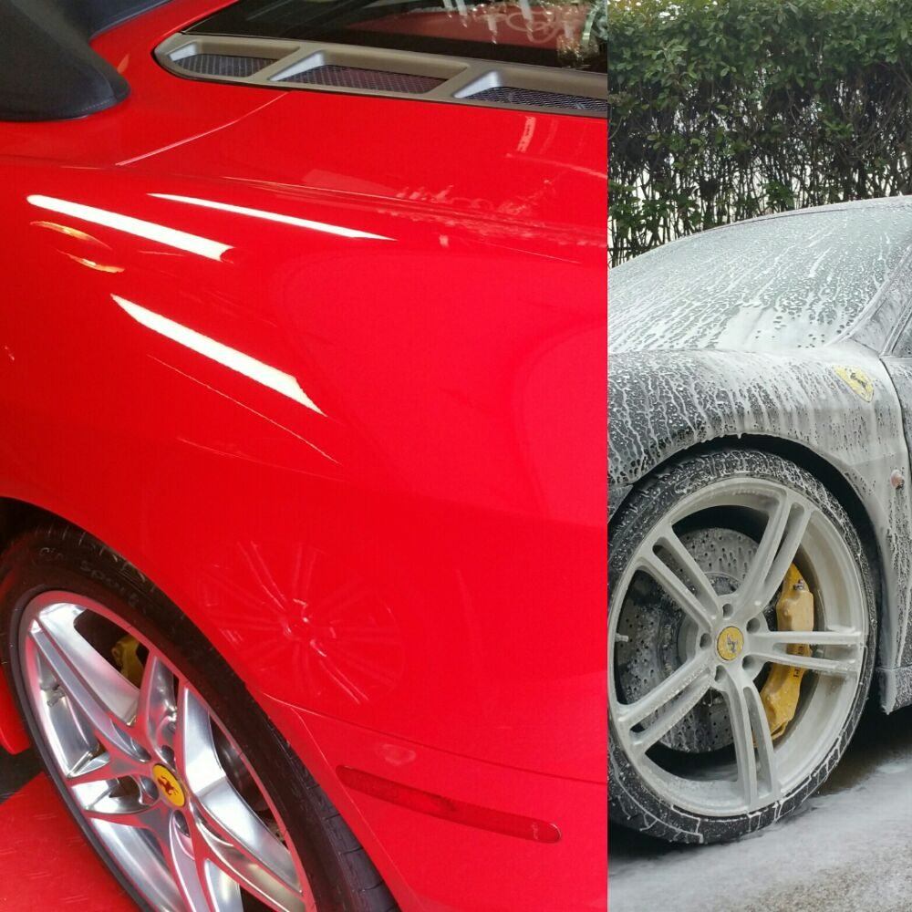 Red Or Black F430's Getting The VIP Treatment