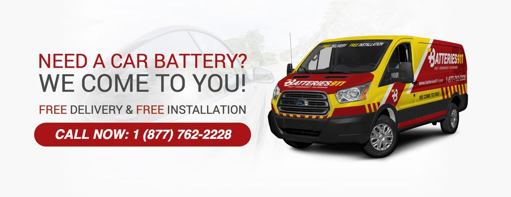 Batteries 911 Car Battery Replacement Service We Come To You