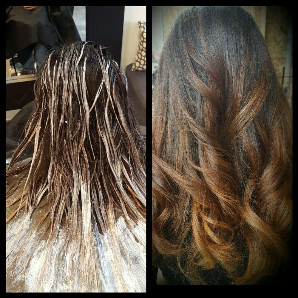 Photo Of Rush Hair Studio Astoria Ny United States Fluid Painting