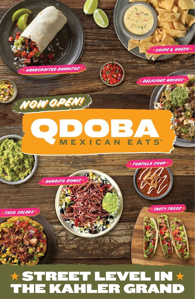 QDOBA Mexican Eats: 1011 18th Ave NW, Austin, MN