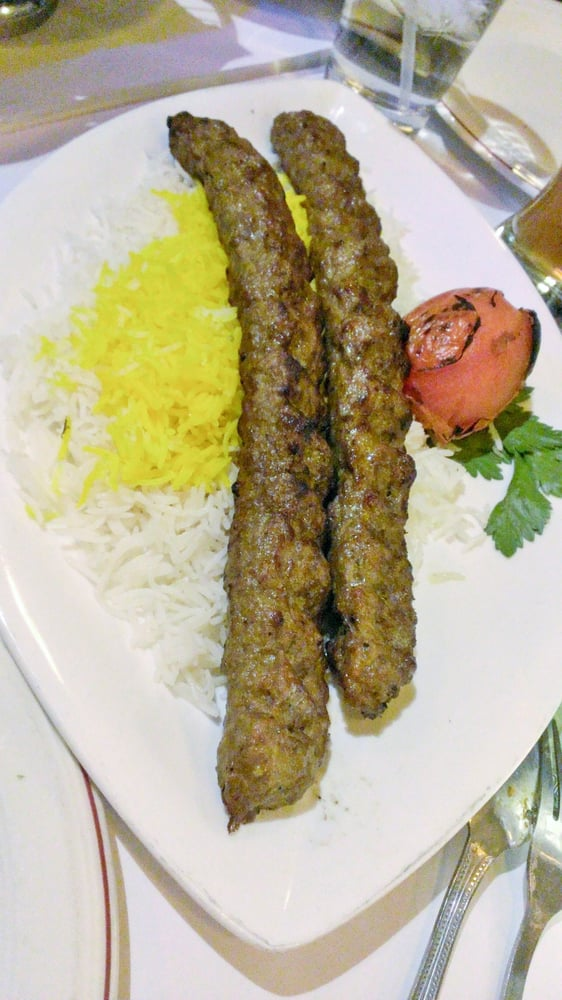 Beef koobideh ground beef with rice yelp for Arya global cuisine menu