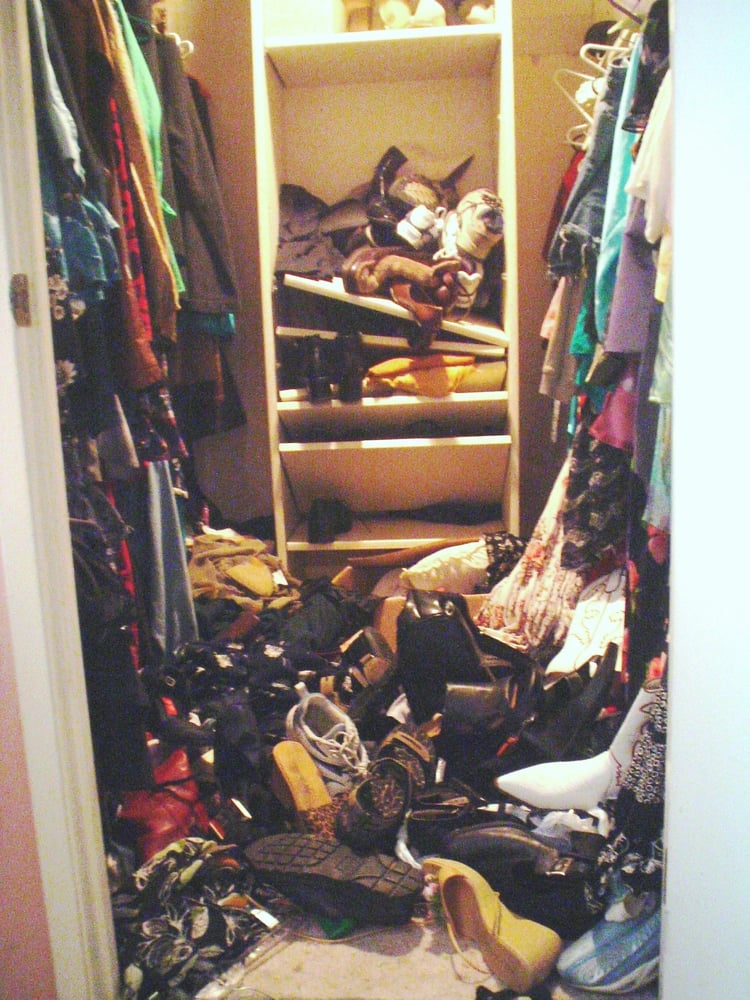Photo Of The Clutter Wizard   Santa Clarita, CA, United States. Cluttered  Clothes