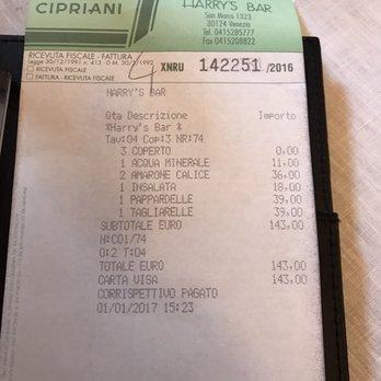 Harry s bar 128 photos 150 reviews bars sestiere for Ristorante amo venezia prezzi