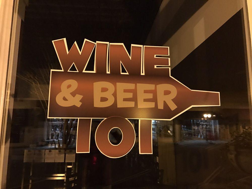 Wine & Beer 101: 21 North Main St, Wendell, NC
