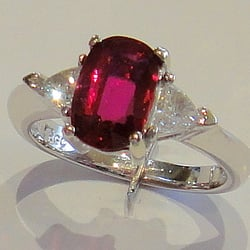 Photo Of Goldmark Jewelers Portland Or United States This Delicious Ruby Looks