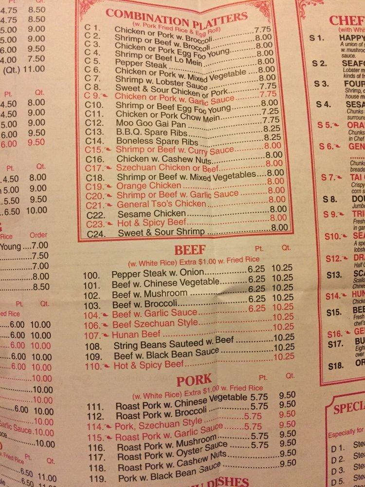 Hong Kong Chinese Food Bronx