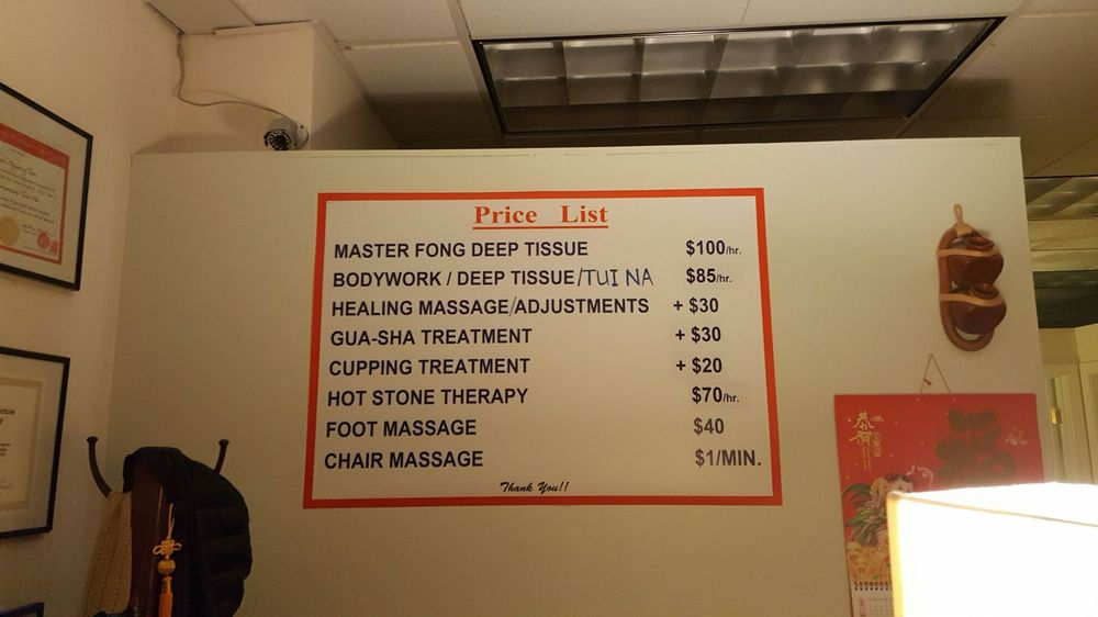 Fong Massage Therapy