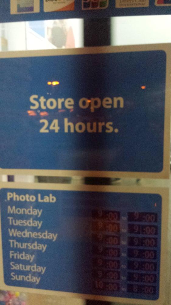 Is walmart open 24 hours
