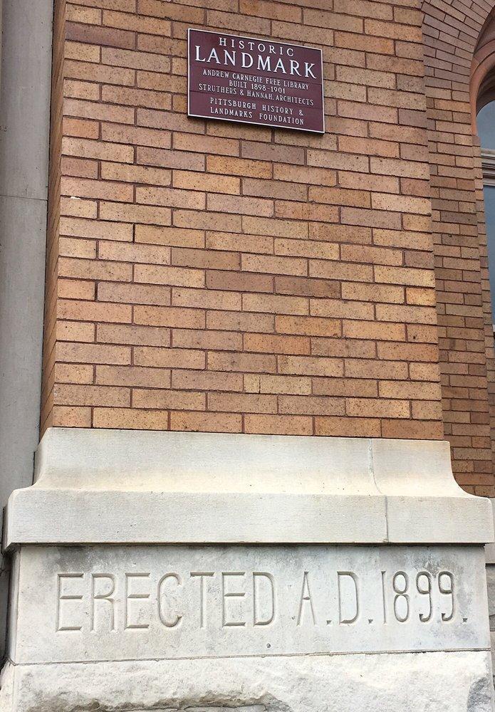 Carnegie Free Library: 300 Beechwood Ave, Carnegie, PA