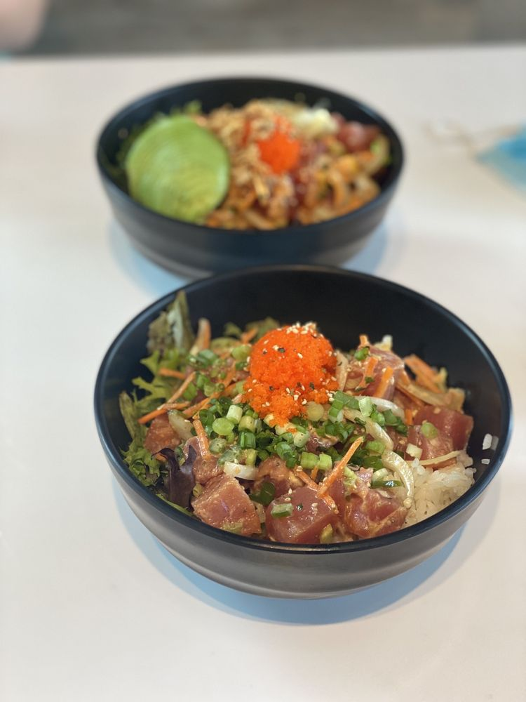 Food from Poke Row