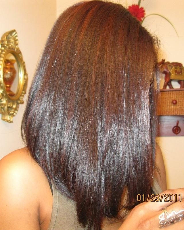 Photo Of MoniQu0027s Hair Studio   Atlanta, GA, United States. Haircut    Diagonal