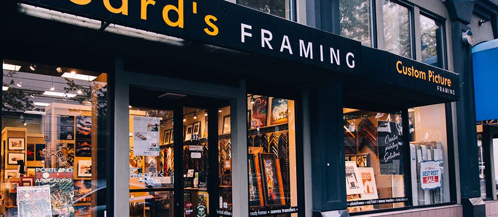 Beard\'s Framing - Framing - 832 SW 4th Ave, Downtown, Portland, OR ...