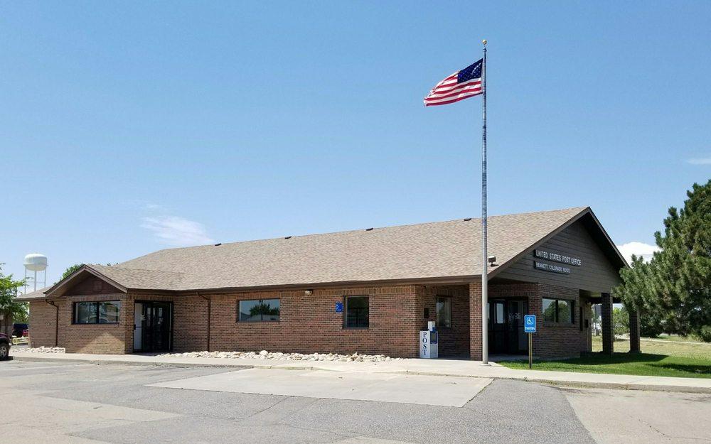 US Post Office: 205 S Ash St, Bennett, CO