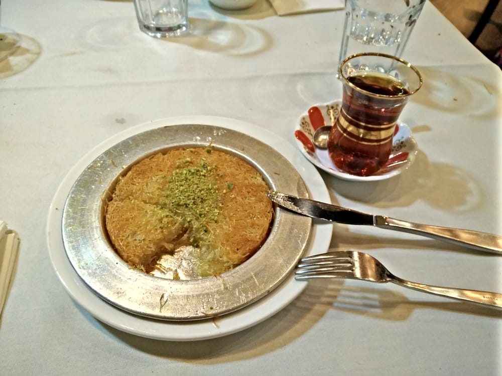 Kunefe at anatolian 39 s yelp for Authentic turkish cuisine