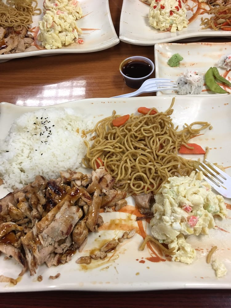 California Sushi & Teriyaki: 1061 E Whittier Blvd, La Habra, CA