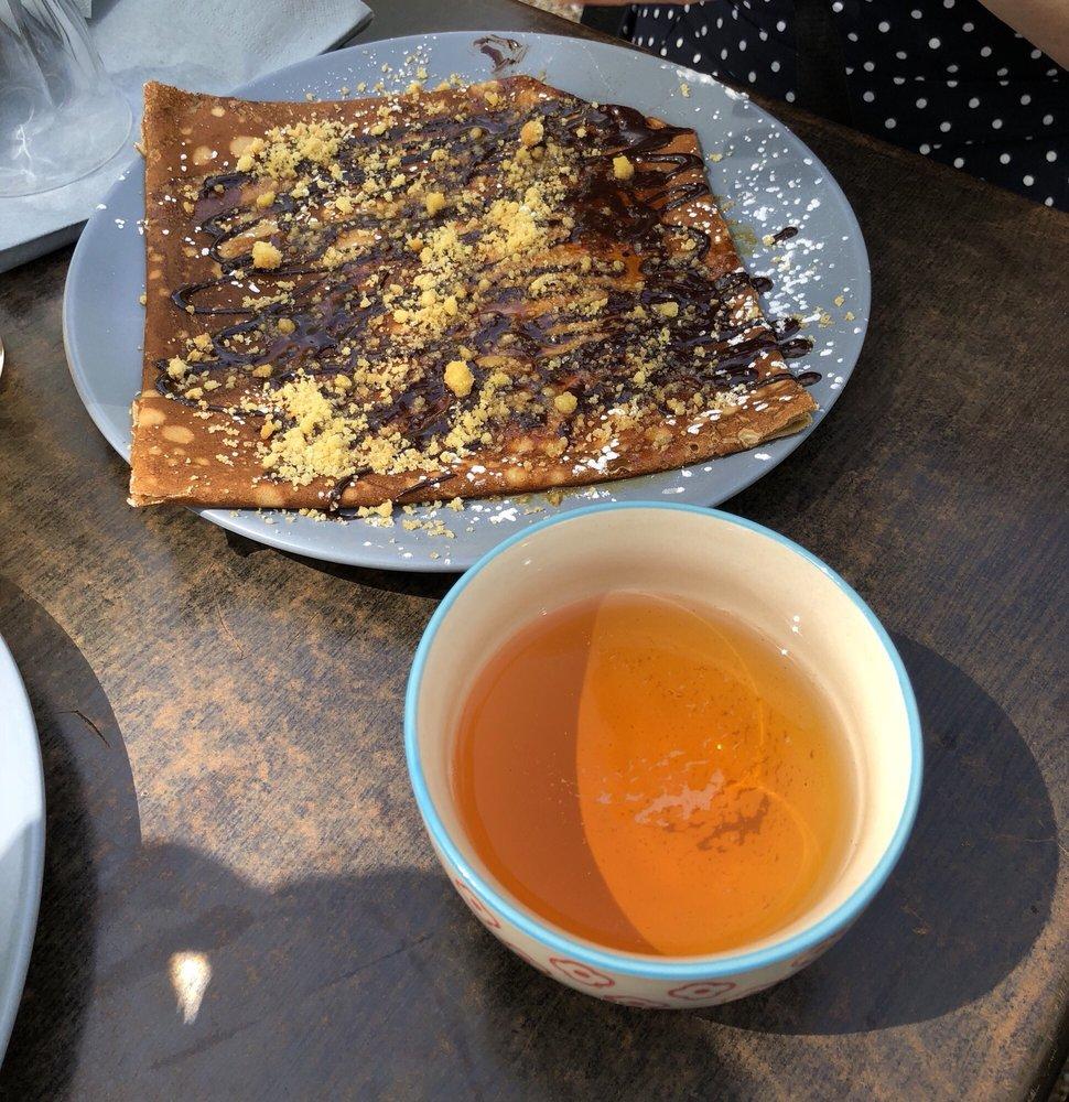 Crêpe Bretonne Chocolat Maison Caramel Beurre Salé Palets Breton