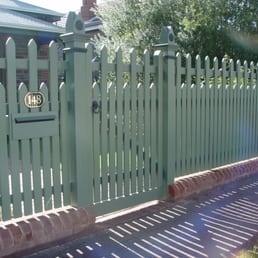 Paling Fence Designs Heritage fencing 53 photos fences gates 17 stepney st photo of heritage fencing adelaide south australia australia the cant brick base is workwithnaturefo