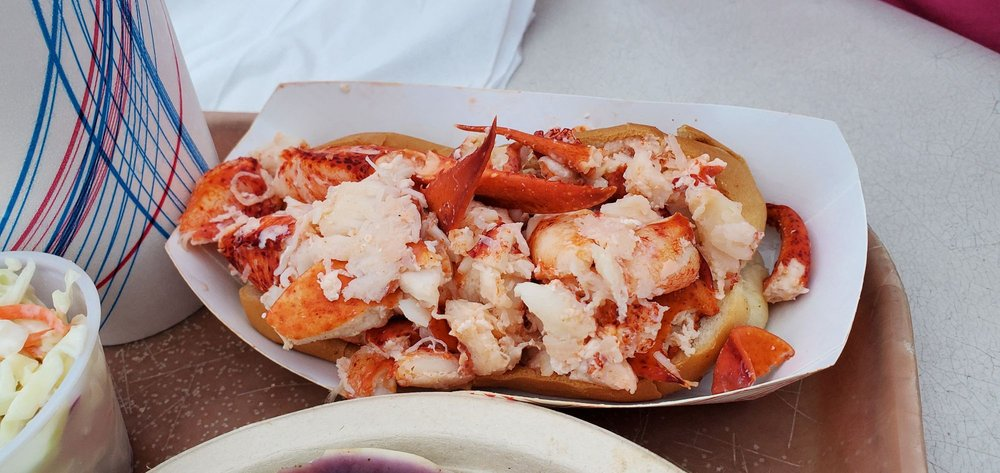 Food from The Lobster Shack