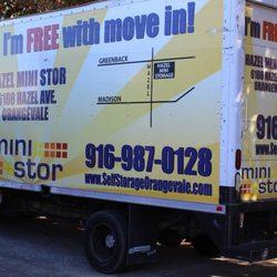 Wonderful Photo Of Hazel Self Storage   Orangevale, CA, United States. Rental Truck At