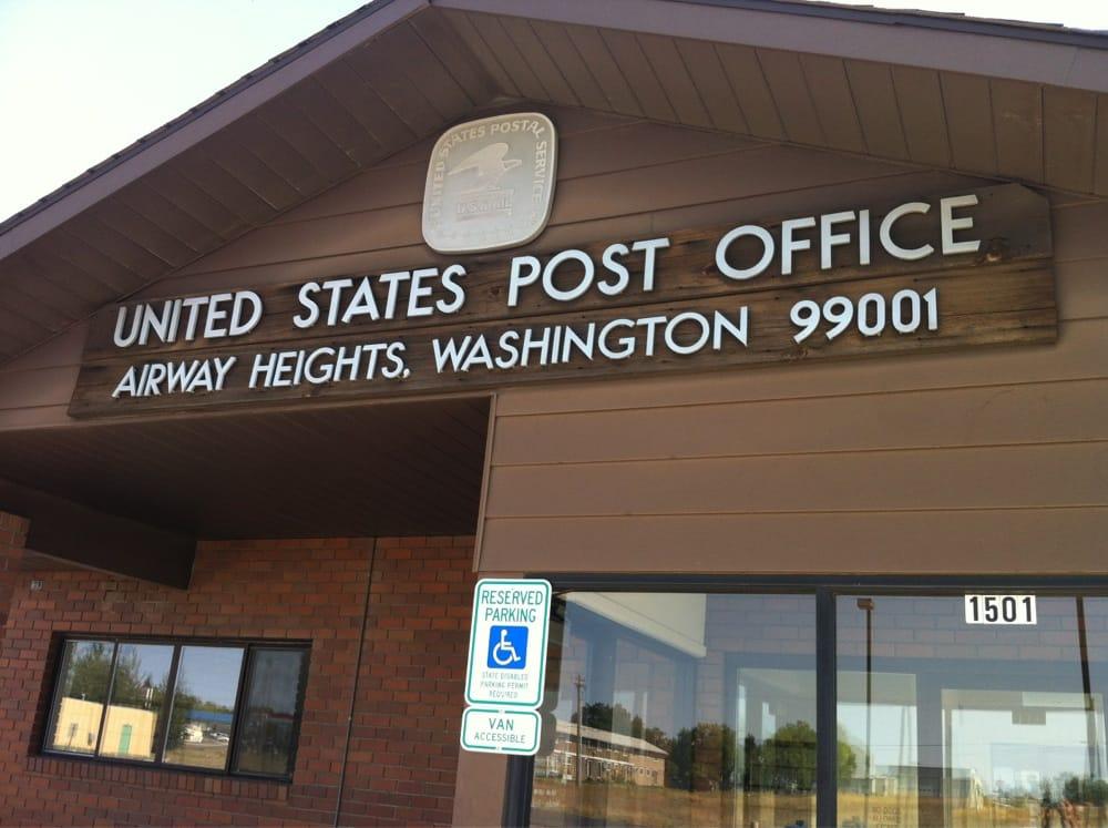 US Post Office: 1501 S Mullan Rd, Airway Heights, WA