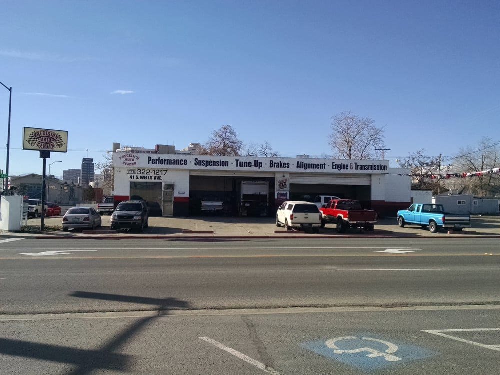 Precision auto center 12 reviews garages 41 s wells for Budget motors reno nv
