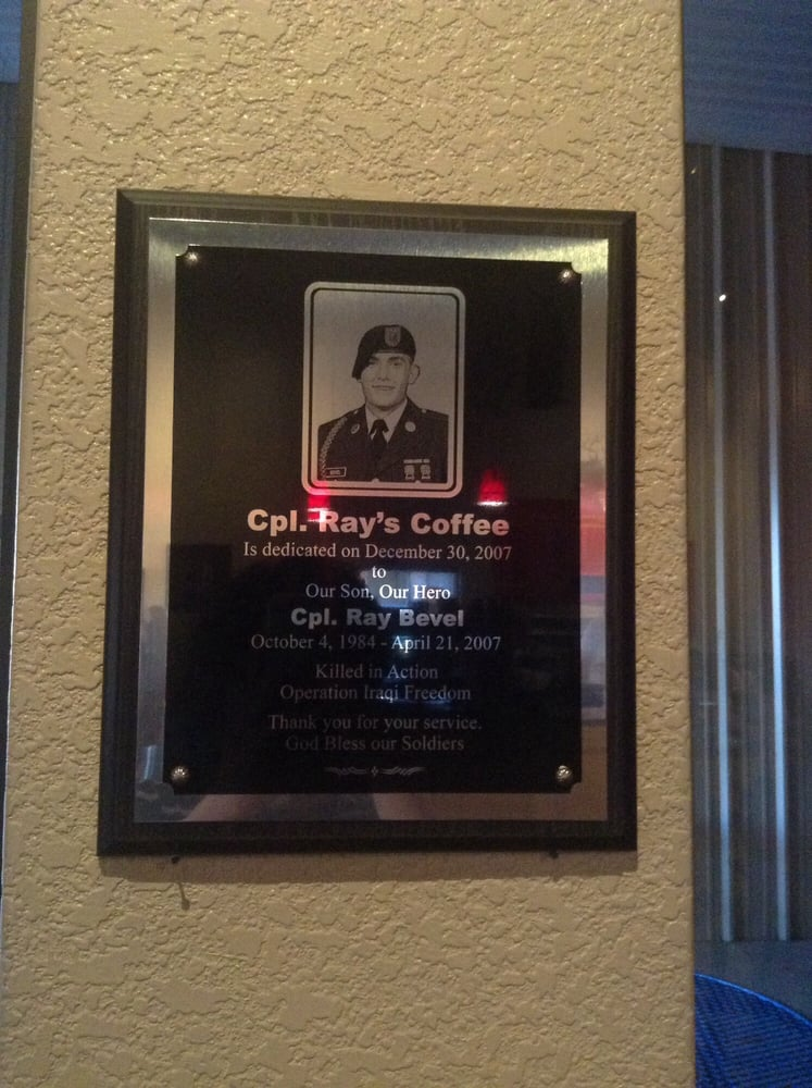 Cpl Ray's Coffee: 801 N Main St, Andrews, TX