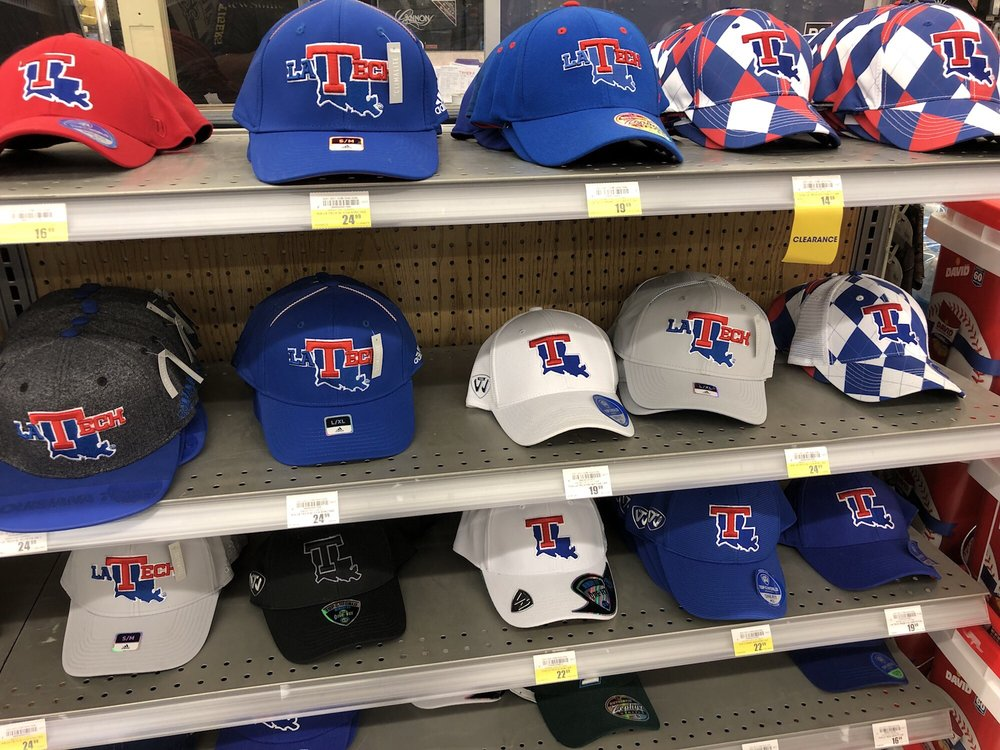 3 12 18. Monday afternoon. Plenty of Louisiana Tech hats! My alma ... 62246eafb204