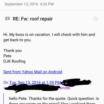 Photo Of D J K Roofing   Moorestown, NJ, United States. Here Is The Email
