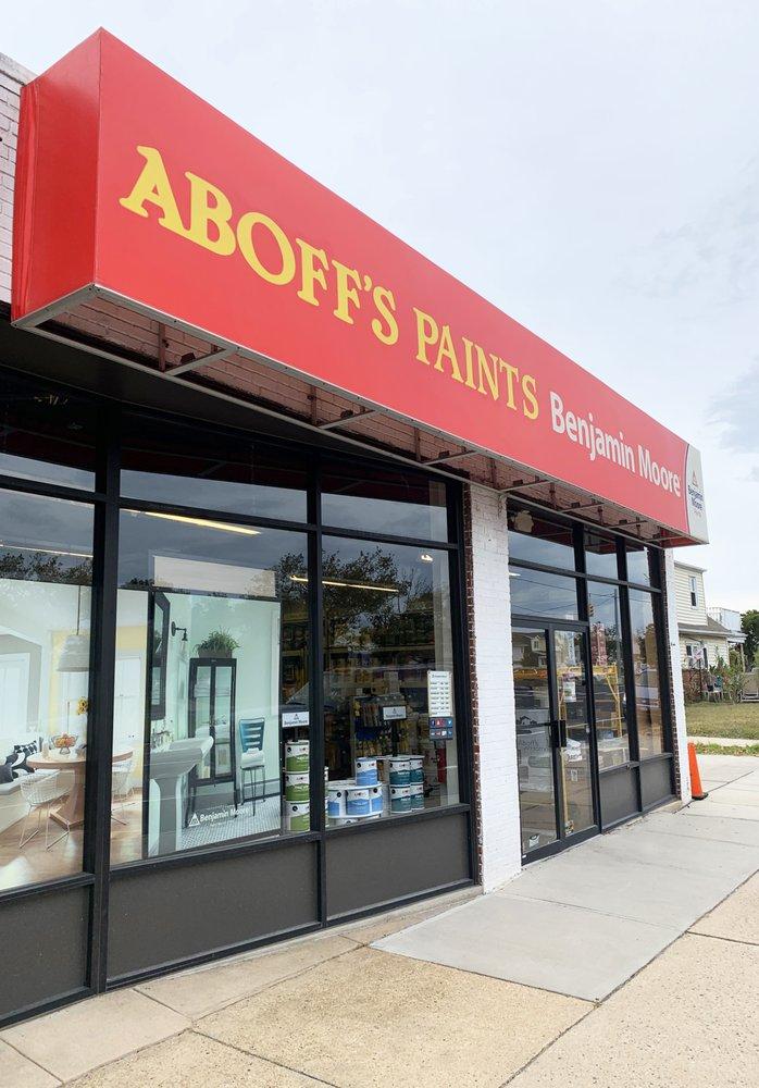 Aboff's Paints: 367 East Park Avenue, Long Beach, NY