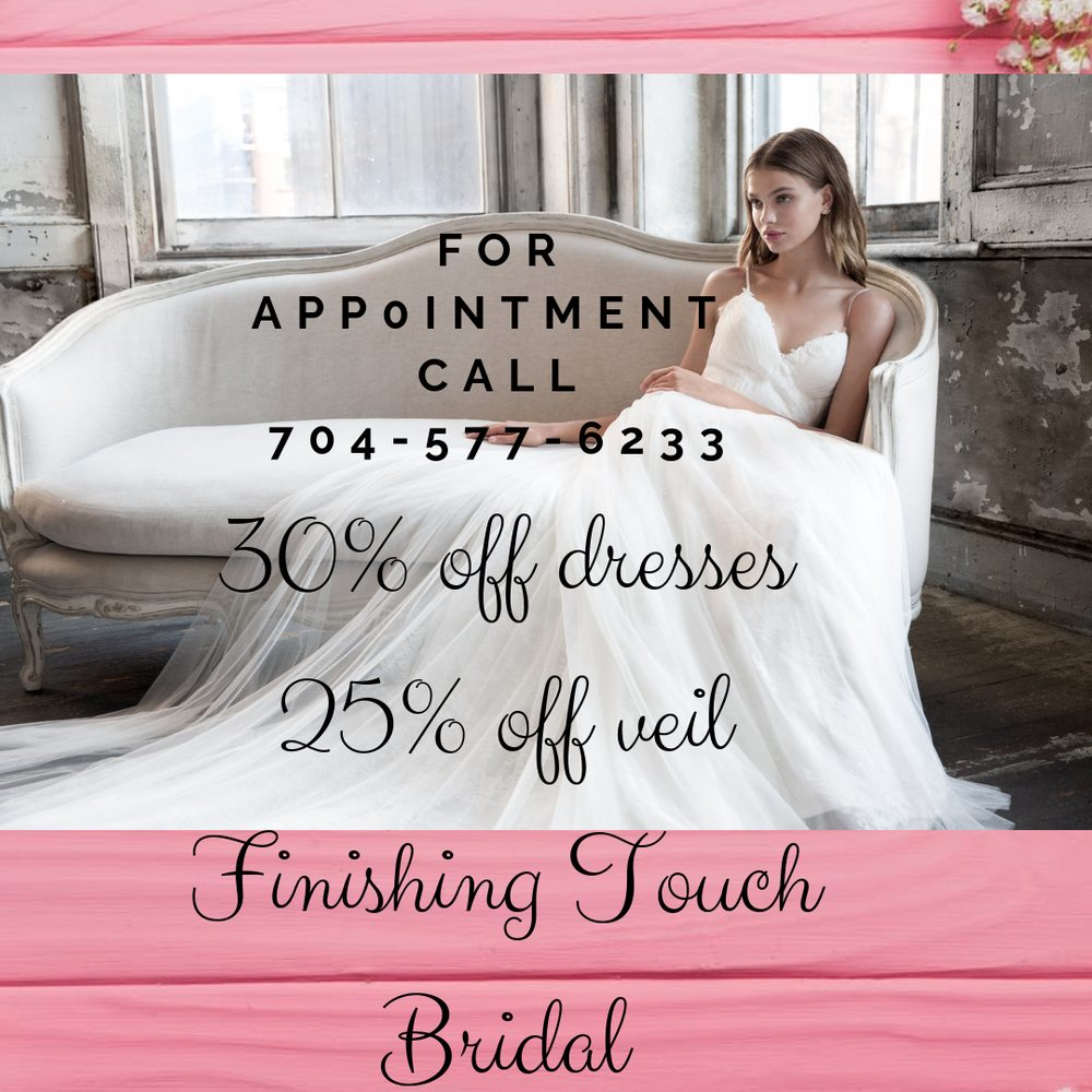 Finishing Touch Bridal: 3140 NC-16 Business, Denver, NC